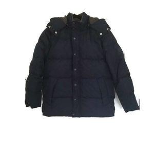 Gap Puffer Coat Down Navy blue xl 12 13